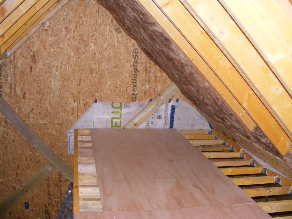 Insulation Above Roof : Insulating the roof