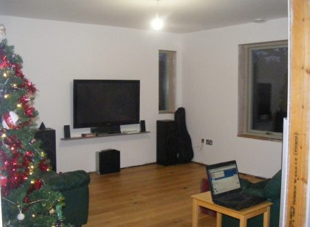 Living room finished